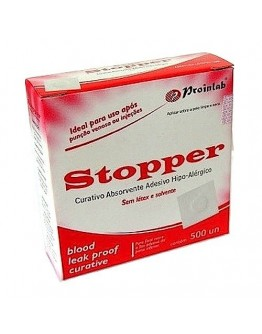 Curativo Stopper Branco (500 unidades) - Proinlab