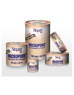 Fita Micropore Hipoalergênica 12,5mm x 10m Bege - 3M