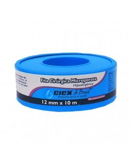 Fita Micropore Hipoalergênica 12mm x 10m Branca - Ciex