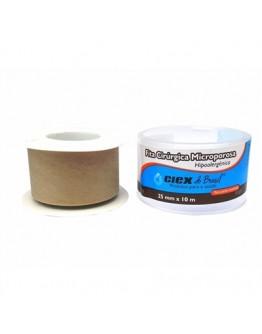 Fita Micropore Hipoalergênica 25mm x 10m Bege - Ciex