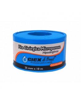 Fita Micropore Hipoalergênica 25mm x 10m Branca - Ciex