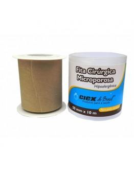 Fita Micropore Hipoalergênica 50mm x 10m Bege - Ciex