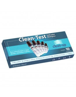 Kit Indicador Biológico Clean Test (10 unidades) - Clean Up