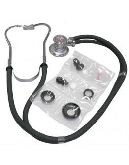 Estetoscópio Simples Preto - Premium