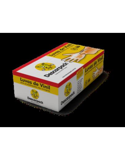 Luva de Vinil com Pó (100 unidades) - Descarpack
