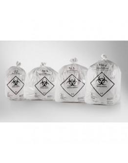 Saco para Lixo Infectante Branco 30 Litros (100 unidades) - Centerlab