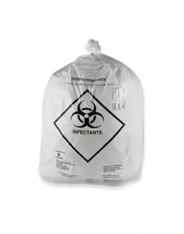 Saco para Lixo Hospitalar Infectante 30 Litros (100 unidades) - Rava