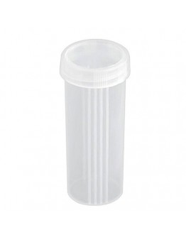 Tubo Porta Lâminas para Microscopia (100 unidades) - Cral